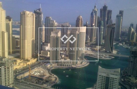 Beautifully Furnished studio in Address Marina with full Marina view