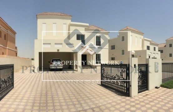 Huge Good Quality 6 Bedroom Villa  AED 4,200,000(NEGOTIABLE)- vacant