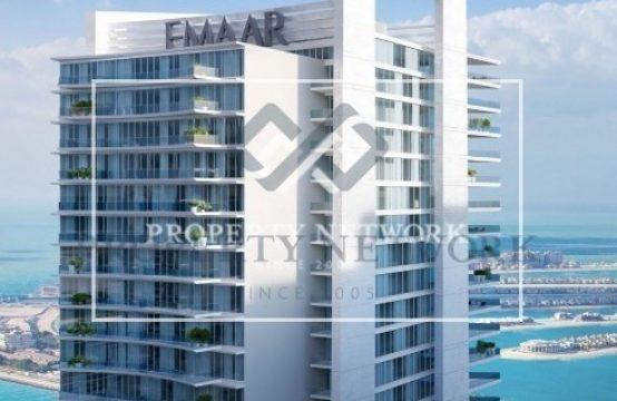 Beach Vista By Emaar I 1BR Apartment with Beach view at Dubai Harbour
