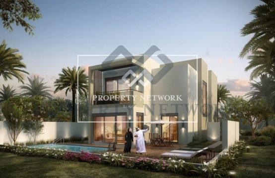 Ind Villa for AED 850 Per Sq Ft post handover payment plan