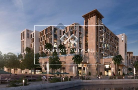 2BR Courtyard View For Sale in Dubai Wharf