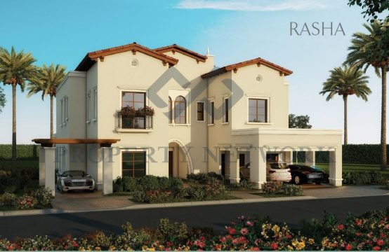 READY 4 BED ROOM VILLA | 40% POST HANDOVER PAYMENT PLAN